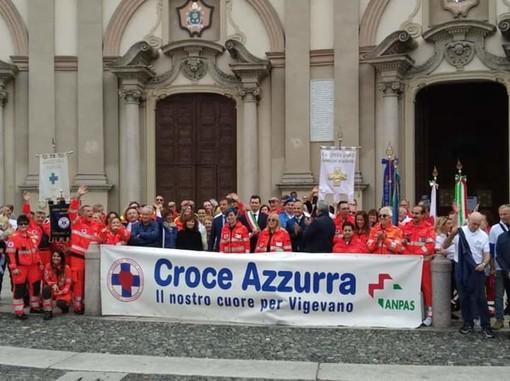 - (FOTOGALLERY) - Vigevano, si festeggiano i 50 anni di Croce Azzurra