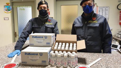 - (VIDEO) - Garlasco: rincari del 300% sul gel igienizzante, denunciato il titolare di una farmacia e materiale sequestrato dalla Guardia di Finanza