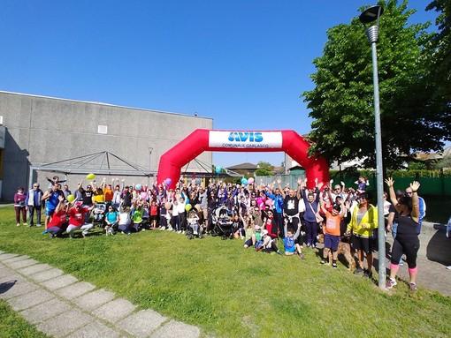 Successo a Garlasco per la seconda edizione della Family Run organizzata dal gruppo Avis