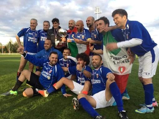Cassolnovo, Alessandro Abbate sul tetto d'Europa con la nazionale italiana di calcio trapiantati
