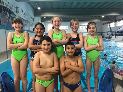 Vigevano Nuoto, pochi ma buoni gli atleti ducali