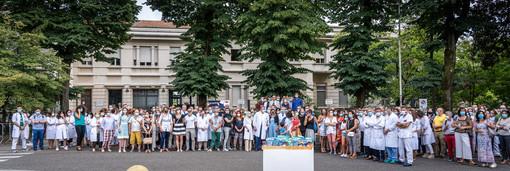 """Il San Matteo di Pavia festeggia i suoi lavoratori con un brindisi firmato """"La Versa – Terre d'Oltrepò"""""""