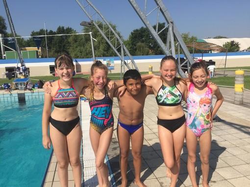 Vigevano Nuoto, i nuotatori ducali escono da un doppio weekend in vasca