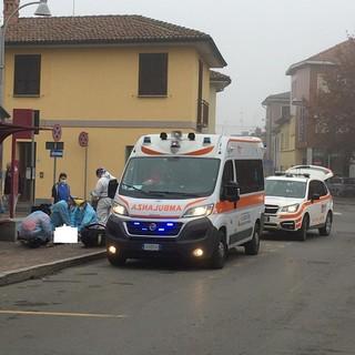 Sannazzaro: accusa un malore in via Mazzini, deceduto un 71enne