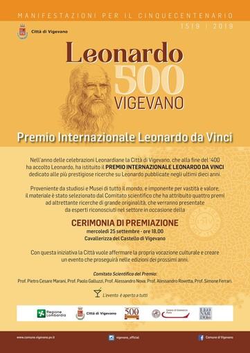 Vigevano premia gli studi sulle opere di Leonardo da Vinci
