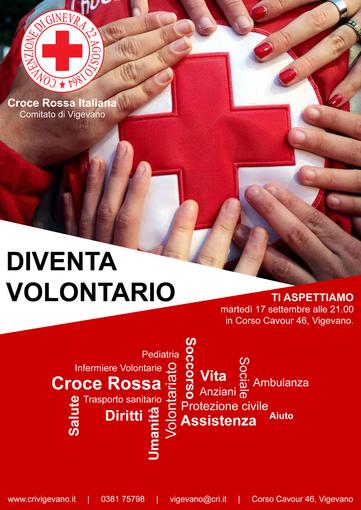 Vigevano, nuovo corso di accesso in Croce Rossa