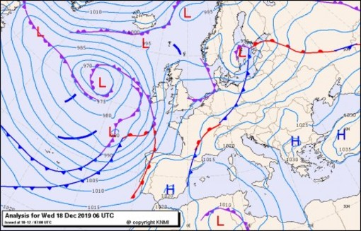 Previsioni meteo per venerdì 20, sabato 21, domenica 22 (dicembre)