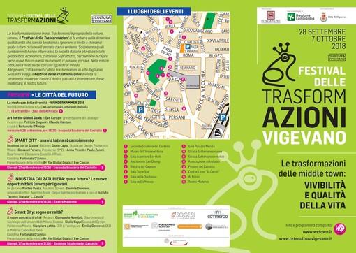 Vigevano: in arrivo la 2° edizione del Festival delle Trasformazioni