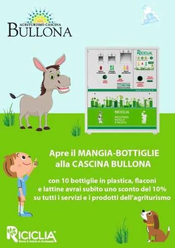 Domani il 'Riciclia Point' in Cascina Bullona