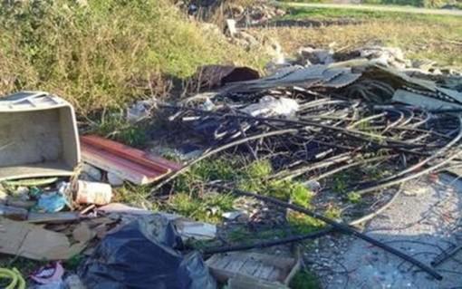 Bressana: lastre di amianto abbandonate. E'allarme per due discariche