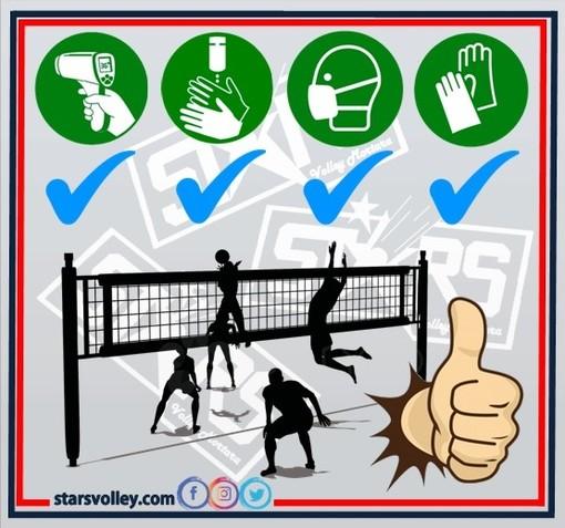 Volley, per la Stars Mortara la ripresa dell'attività in sicurezza viene prima di tutto