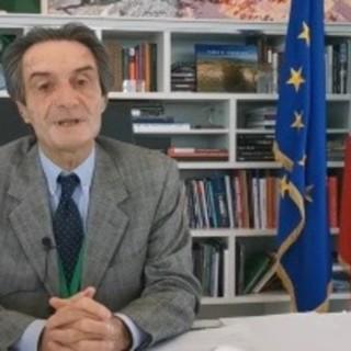 VIDEO. Il messaggio di Fontana per il 25 aprile: «Oggi come allora cerchiamo di nuovo la libertà. Dimostreremo che la Lombardia si rialzerà»