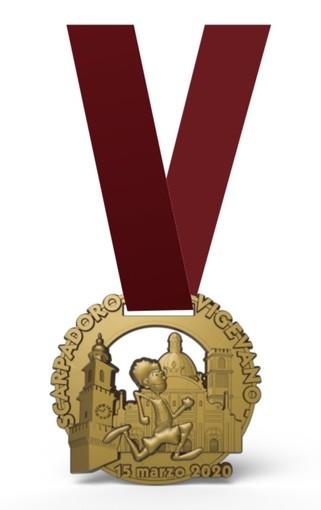 Vigevano: 14° Scarpadoro: svelata la medaglia!
