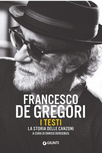 """Valenza, Enrico Deregibus presenterà il suo libro Francesco De Gregori. I testi. La storia delle canzoni"""" (Giunti) il 5 luglio"""