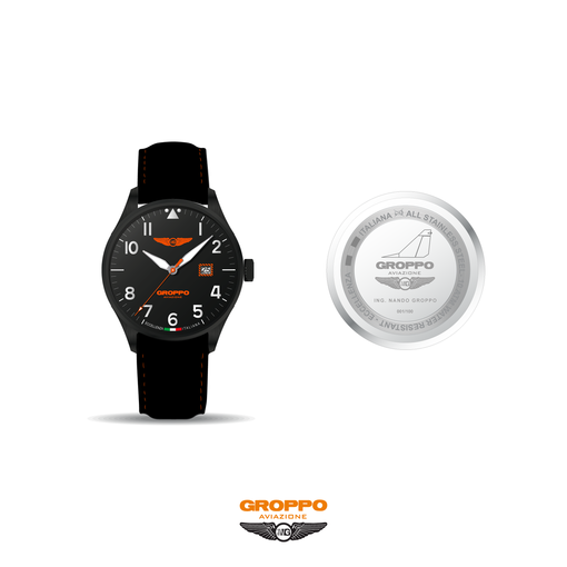 Mezzana Bigli: un orologio dedicato alla Groppo Aviazione