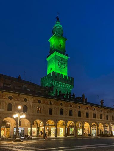 La Torre del Bramante è stata scelta da turismo irlandese per il Global Greening 2021