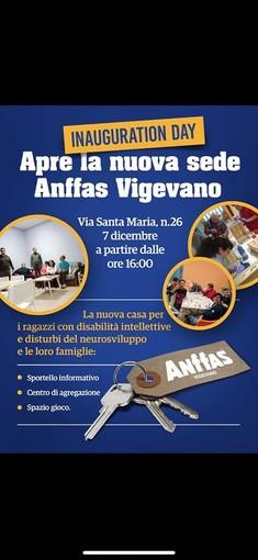 Vigevano, inaugurazione della nuova sede dell'Anffas Vigevano