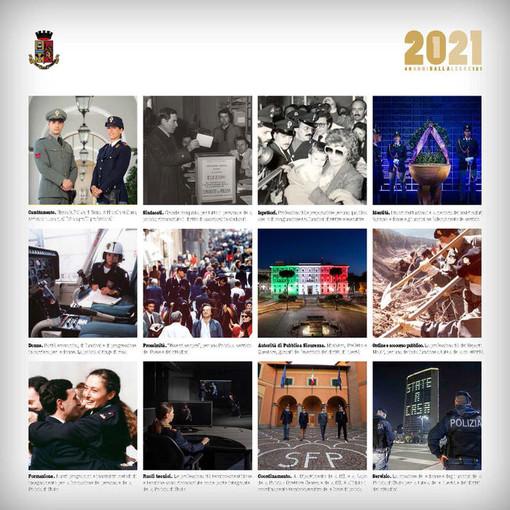 Presentato il calendario 2021 della Polizia di Stato