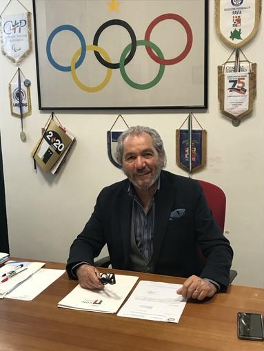 Luciano Cremonesi confermato delegato provinciale del Coni