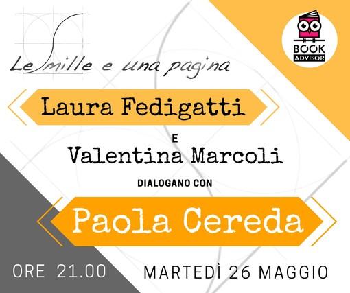 Le Mille e una Pagina e Book Advisor dialogano con Paola Cereda