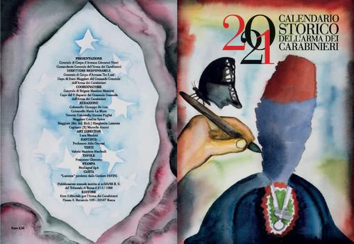 I Carabinieri presentano il Calendario Storico e l'Agenda Storica 2021 che celebra Dante Alighieri e Collodi