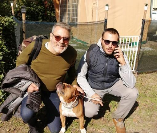 Cuggiono: dopo tre giorni e due notti ritrovato Adamo, il cane dato per spacciato nel Ticino