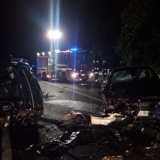 FOTO. Le immagini del tragico incidente sulla statale Bronese