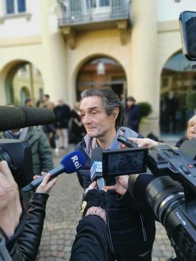 Robecco, Attilio Fontana coi sindaci del SI: 'Non abbiamo perso, la strada s'ha da fare'