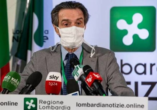 Lombardia, oggi Fontana decide: via alle mascherine (o no)?