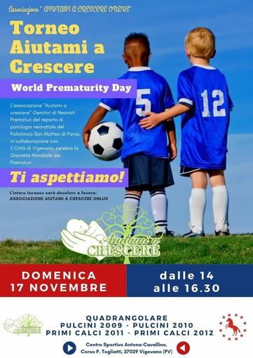 Città di Vigevano in campo per la Giornata Mondiale dei Prematuri