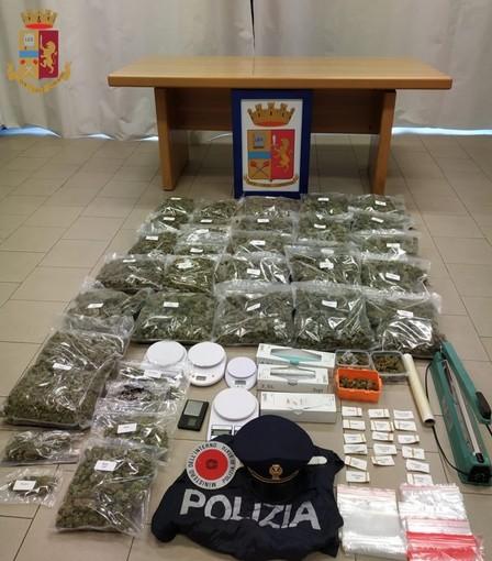 Oltrepò: trovato con 12 chili di marijuana destinata a Milano, in manette un 37enne