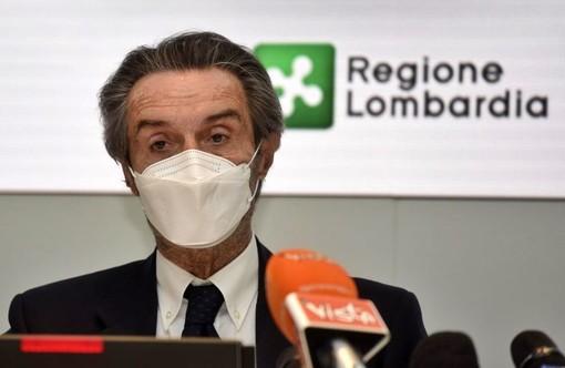 Coronavirus, per la prima volta dalla seconda ondata calano i ricoverati in Lombardia. Fontana: «Consolidiamo quel segno meno»
