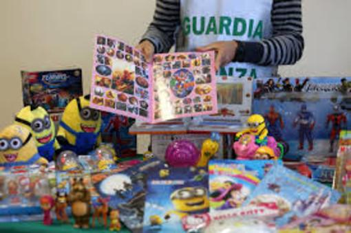 La Gdf sequestra 3 milioni e mezzo di euro di giochi contraffatti nel Milanese