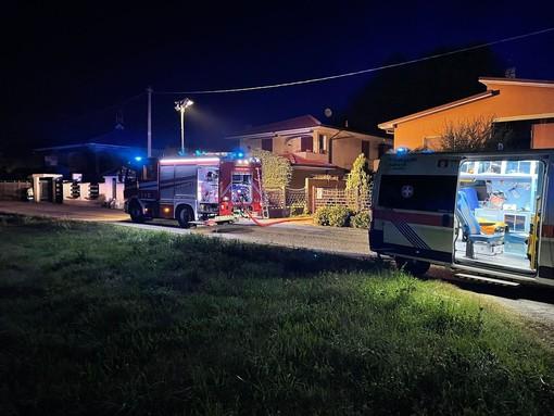 Inveruno: incendio in un portico, donna 71enne in condizioni disperate al Niguarda