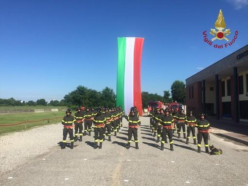 Giuramento Vigili del Fuoco 187° Corso, arriva un nuovo rinforzo per il comando provinciale di Pavia