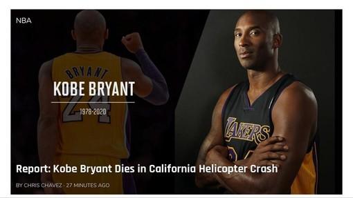 Quella dichiarazione d'amore eterno con cui disse addio al basket: il ricordo più bello di Kobe