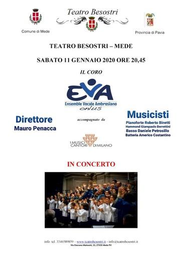 Mede: domani al teatro Besostri arrivano gli Ensemble Vocale Ambrosiano Onlus