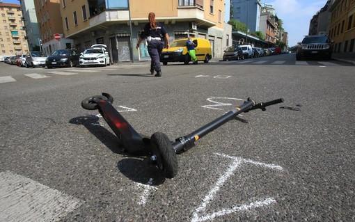 Monopattini, 136 incidenti a Milano dall'1 giugno ad oggi