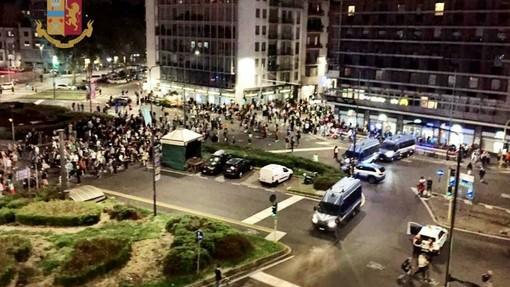 Milano, corteo No Green Pass: 11 in Questura, 5 arrestati