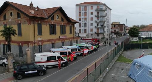 foto tratta dalla pagina Facebook della Croce Rossa di Vigevano