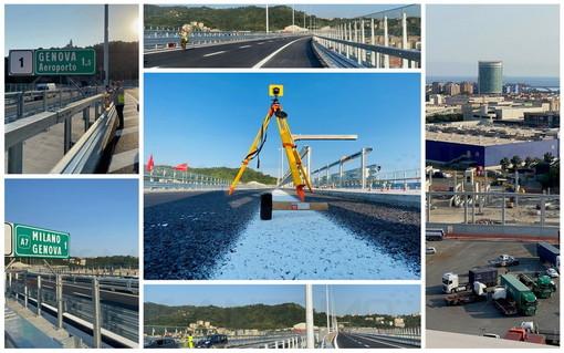 In viaggio sul nuovo ponte San Giorgio di Genova che verrà aperto mercoledì. Nel nome di chi non c'è più e della Ligura