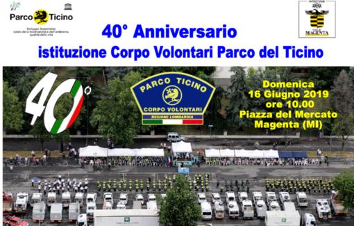 I volontari del Parco Ticino compiono 40 anni, domenica 16 grande festa a Magenta