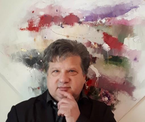 """Casale Monferrato,  """"Attraverso il tempo"""" - mostra antologica opere 1981 /2021 di Piergiorgio Panelli"""