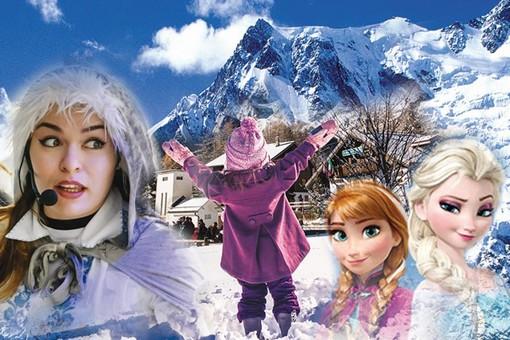 La magia di Babbo Natale e Regina dei Ghiacci al Lago Maggiore Monte Rosa