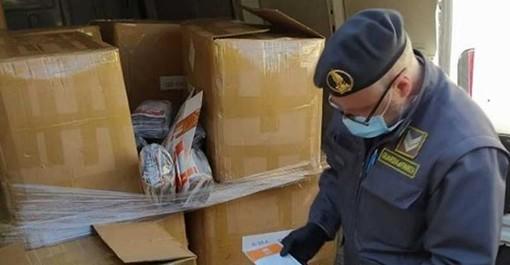La Gdf di Corsico sequestra 95mila mascherine cinesi