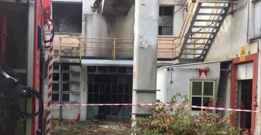 Magenta: scoppio nella ex Novaceta, ustionato un senza tetto portato al Niguarda in codice rosso (FOTO)