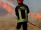 Fiamme alle sterpaglie: grosso incendio nel Monferrato