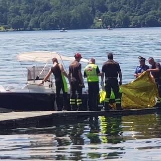 Alice Castello in lutto per la giovane morta nel lago di Viverone