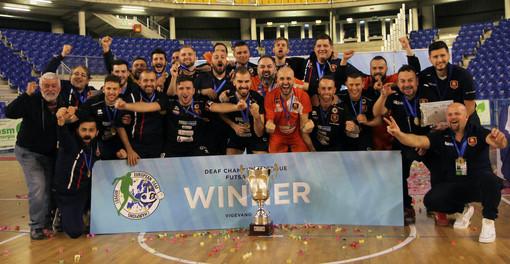 Vigevano, la European Deaf Champions League (DFL) incorona Potenza tra gli uomini ed Essen tra le donne